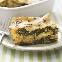 Polenta Lasagna With Butternut Squash And Spinach Recipes — Dishmaps