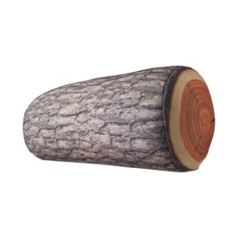 Log pillow for their forest themed playroom