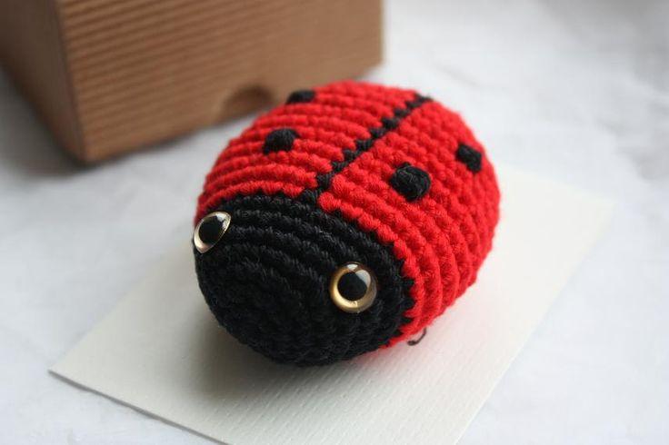 Amigurumi Ladybug : Amigurumi Ladybug PATTERN - Crochet Pdf Tutorial Pattern ...