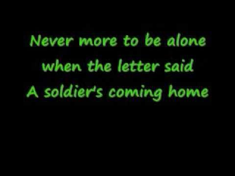 keyword song lyrics traveling soldier