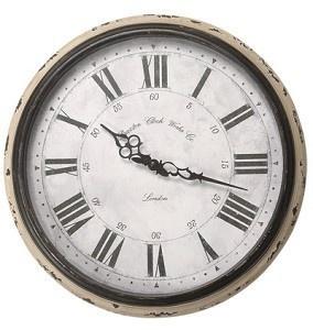 vintage kuchenuhr : Vintage-Home Wanduhr Braxton Uhr Metall ? 42 cm K?chenuhr ...