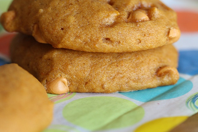 Pumpkin Cookies with Butterscotch Chips by joy the baker, via Flickr ...