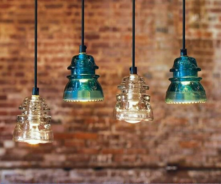 insulator lights for the home pinterest