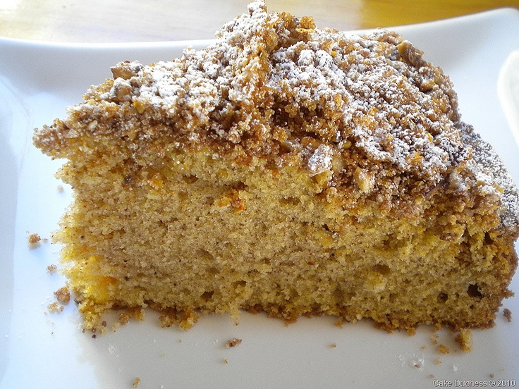 Overnight Cinnamon Pecan Coffee Cake | Teatime Cakes | Pinterest