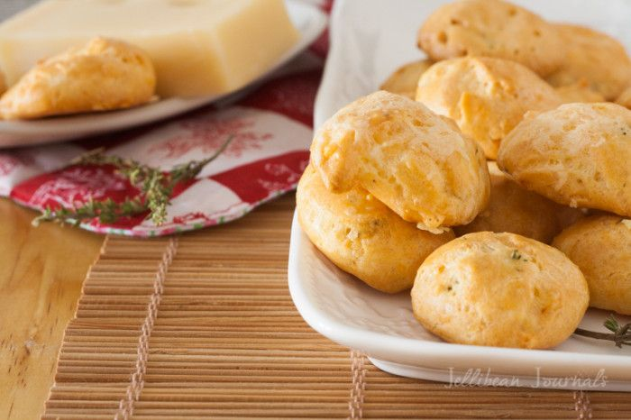 Gougeres-French Cheese Puffs: gorgous choux pastry with ementhal ...