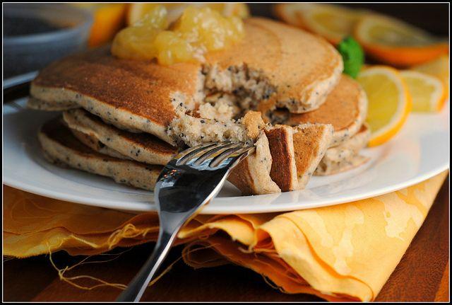 Lemon Poppyseed Yogurt Pancakes | Cooking and Baking | Pinterest