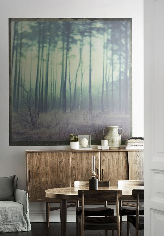 nature in the dining room / trendenser.se