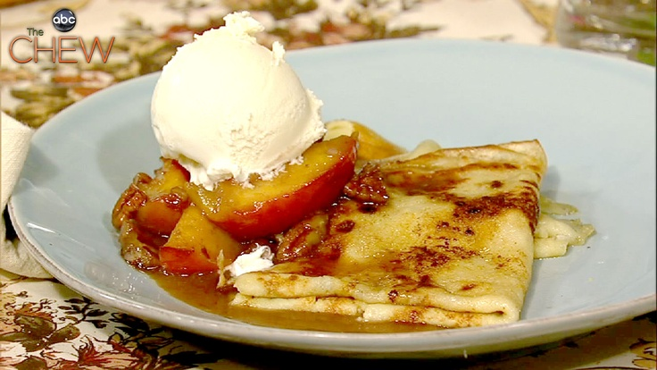 Crepes Suzette Southern Style recipe. #thechew