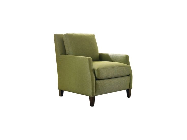Sherrill Living Room Arm Chair With Exposed Wood Legs 1585 1 Kathy Adams Furniture And Design