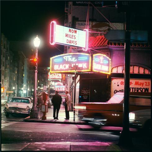 Miles Davis, San Francisco, 1961  © Leigh Wiener, 1961