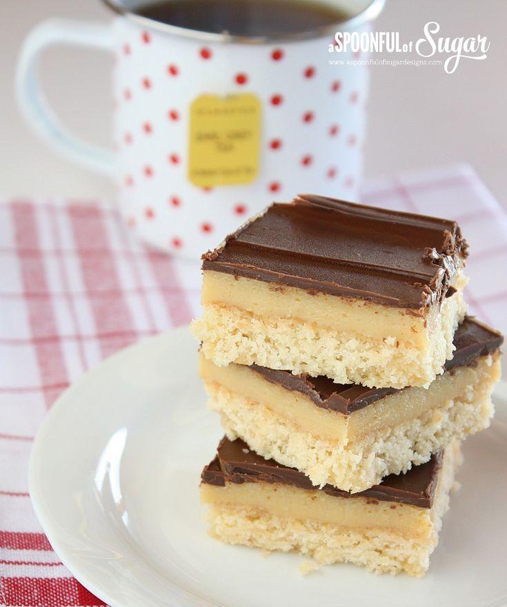 Chocolate Caramel Slice Recipe   Beautiful Baking   Pinterest