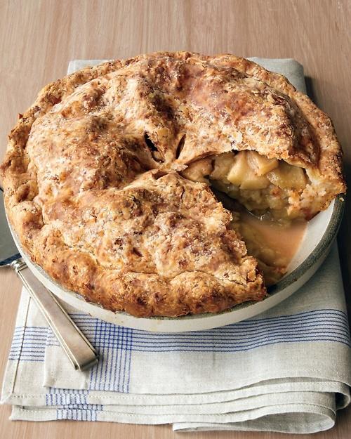... sent this recipe! Cheddar-Crusted Apple Pie - Martha Stewart Recipes