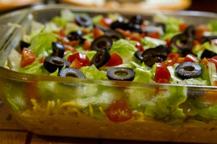 Skinny Taco Dip | sustenance. | Pinterest