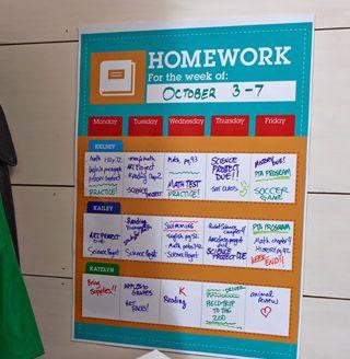 No more homework