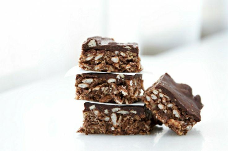 Gluten Free Triple Chocolate Vegan Protein Bars