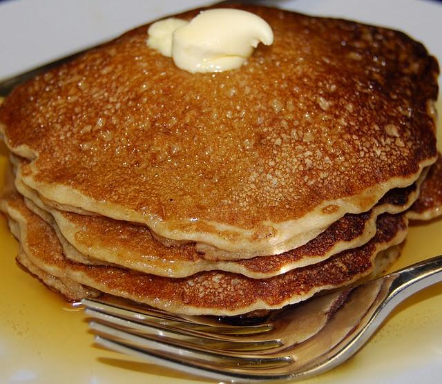 Vegan Whole Wheat Pancakes | Recipe