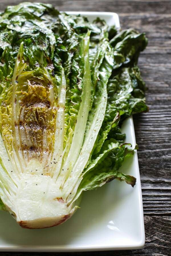 Grilled lettuce Azure Standard natural and organic ingredients would ...