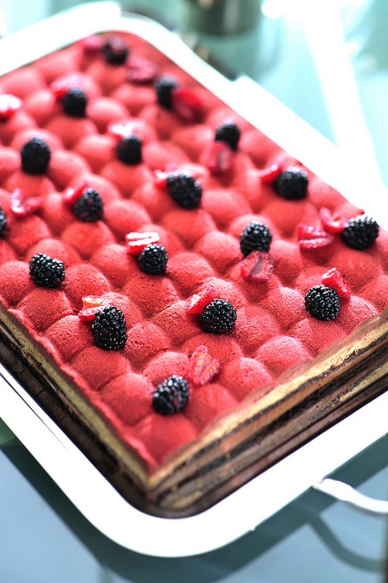 blackberry tea # cake by executive pastry chef cyril dupuis # red