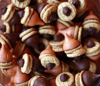 The Next Bird: Fall Acorns - Peanut Butter Chocolate Style