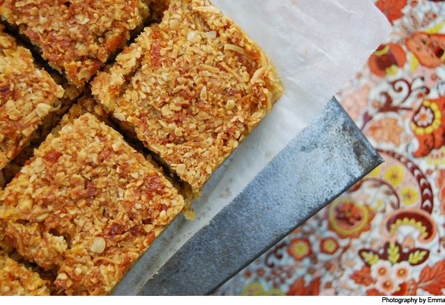 Orange and almond slice « no butter and no eggs!