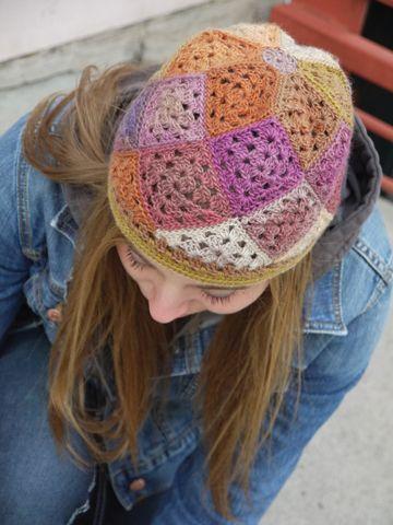 Free Crochet Pattern Square Hat : Free Crochet Tessellations Hat PAttern crochet hats ...