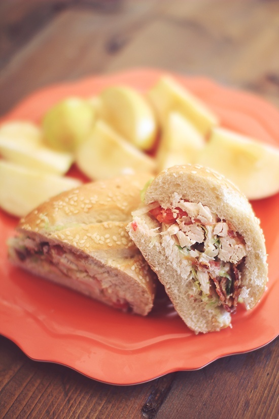 BLT Chicken Salad | Chicken | Pinterest
