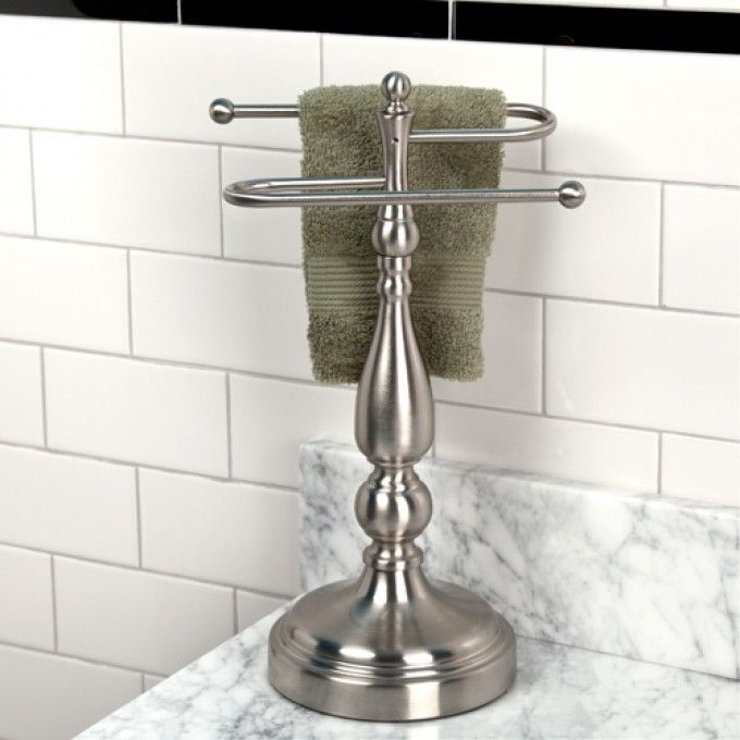 Ridgefield countertop towel holder accessories for the home pinte for Bathroom counter towel holder