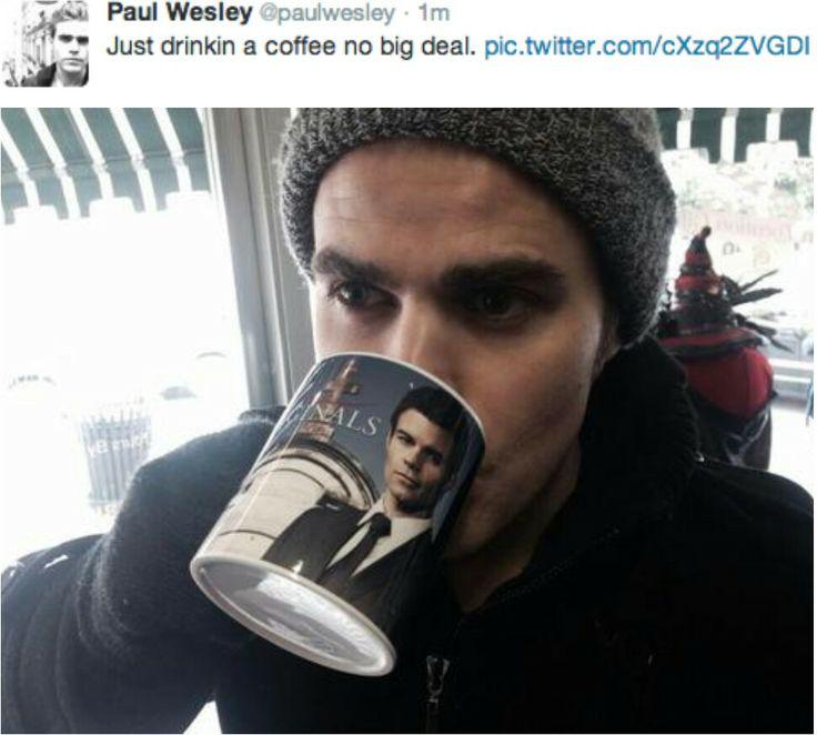 I love Paul Wesley | D...