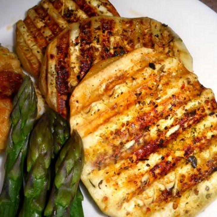 Grilled Eggplant Recipe | recipes | Pinterest