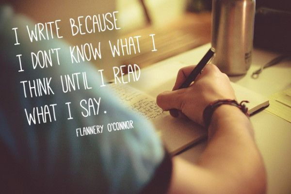 Why I write. #writing #quotes