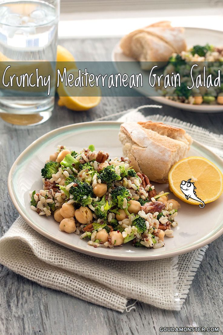 Mediterranean Grain Salad"