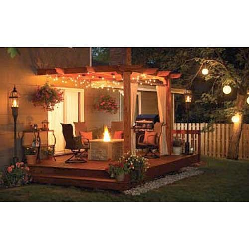 Outdoor Patio Pergola Design