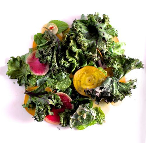 Bon Appetit's Dish of the Year: Crispy Kale Salad with Lime Dressing