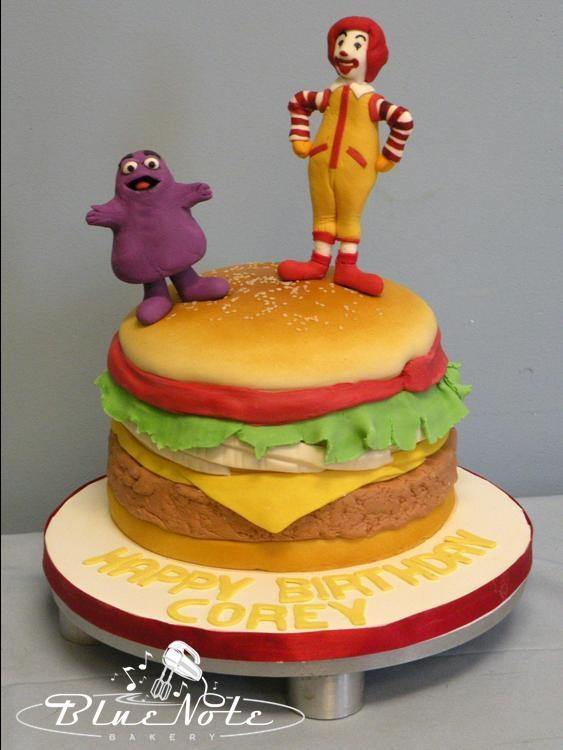 McDonald s BigMac Cake Grimace & Ronald McDonald # ...
