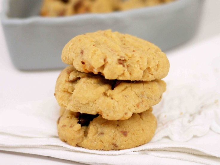 Snickers Bar Cookies Recipe — Dishmaps