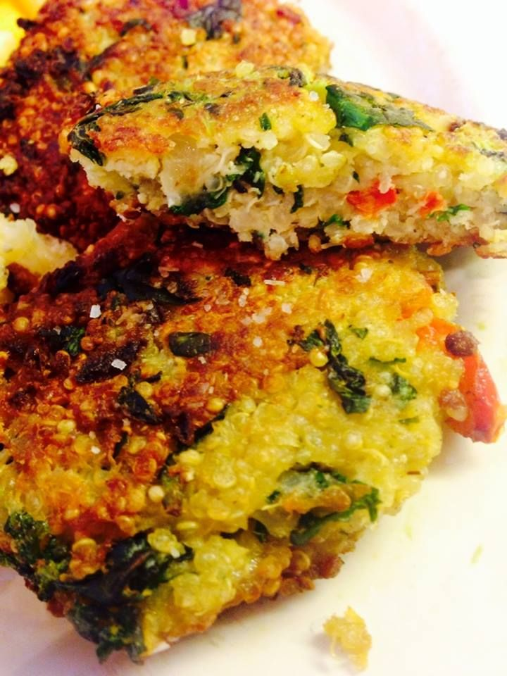 Quinoa and Kale Patties Delicious!!!! | Recipes to Try | Pinterest