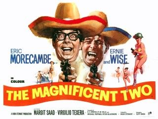 The Magnificent Two | Classic British Comedy Movie Posters ...