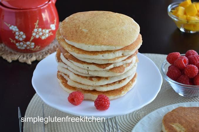 Gluten free buttermilk pancakes | Food | Pinterest