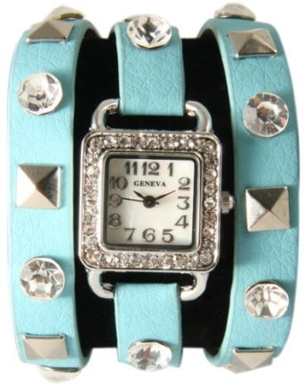 Just bought this Pyramid Stud Sea Blue Wrap Watch
