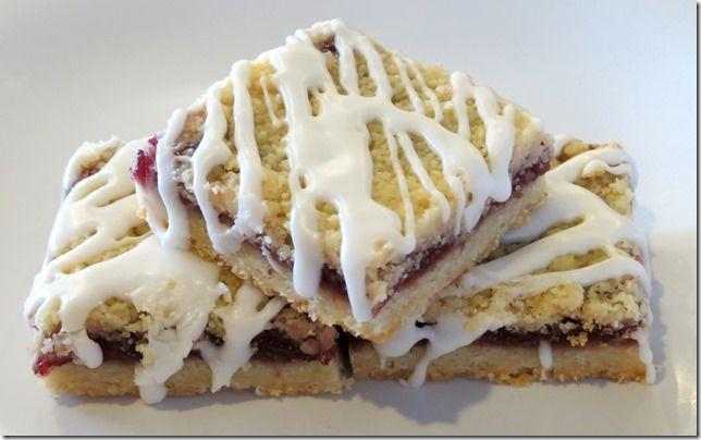 Raspberry Streusel Dessert Bars | Easy Dessert Recipes | Pinterest