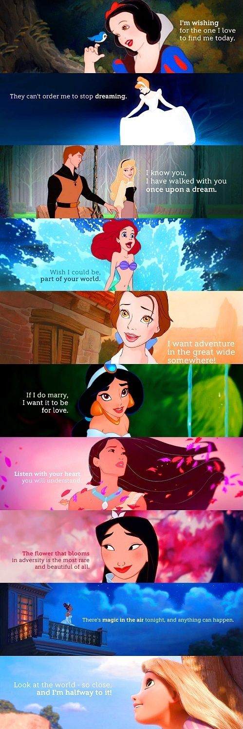 cute disney princess quotes quotesgram