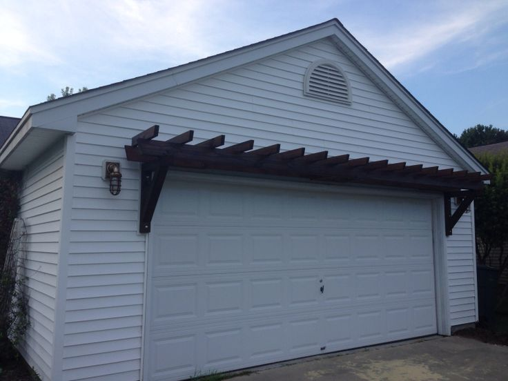 A Trellis Over The Garage What I 39 Ve Done Pinterest