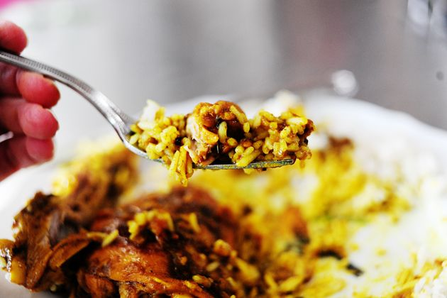 Tom's Trinidadian Chicken Curry (Pioneer Woman) I think I would use ...