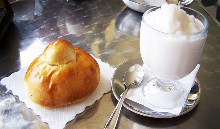 Brioche & sorbet --- Sicilian breakfast | urban | Pinterest