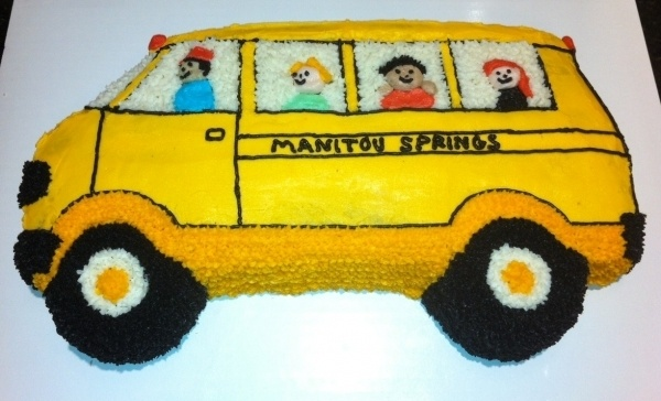 School Bus Cake Food Decorating Ideas Pinterest