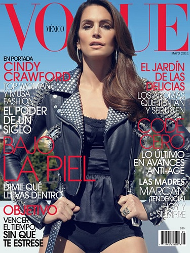 CINDY CRAWFORD ON VOGUE MEXICO