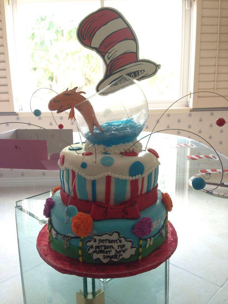 dr seuss baby shower cake cakes i 39 ve made pinterest