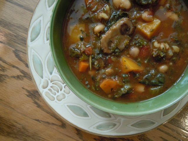Winter Vegetable Soup | We all need to eat! | Pinterest