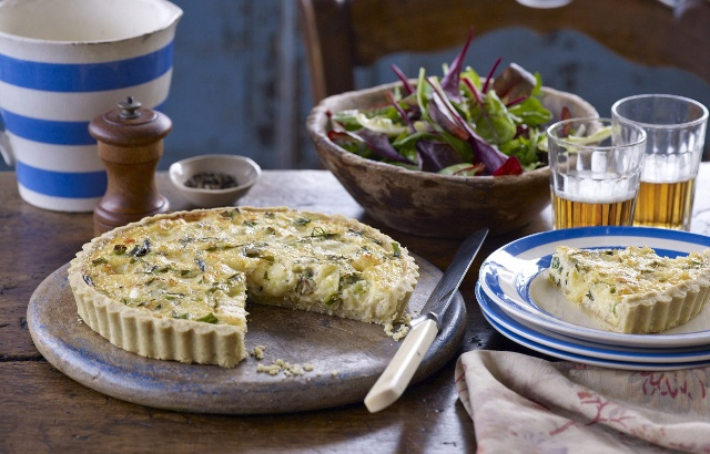 Crab and cheddar tart | Recipe