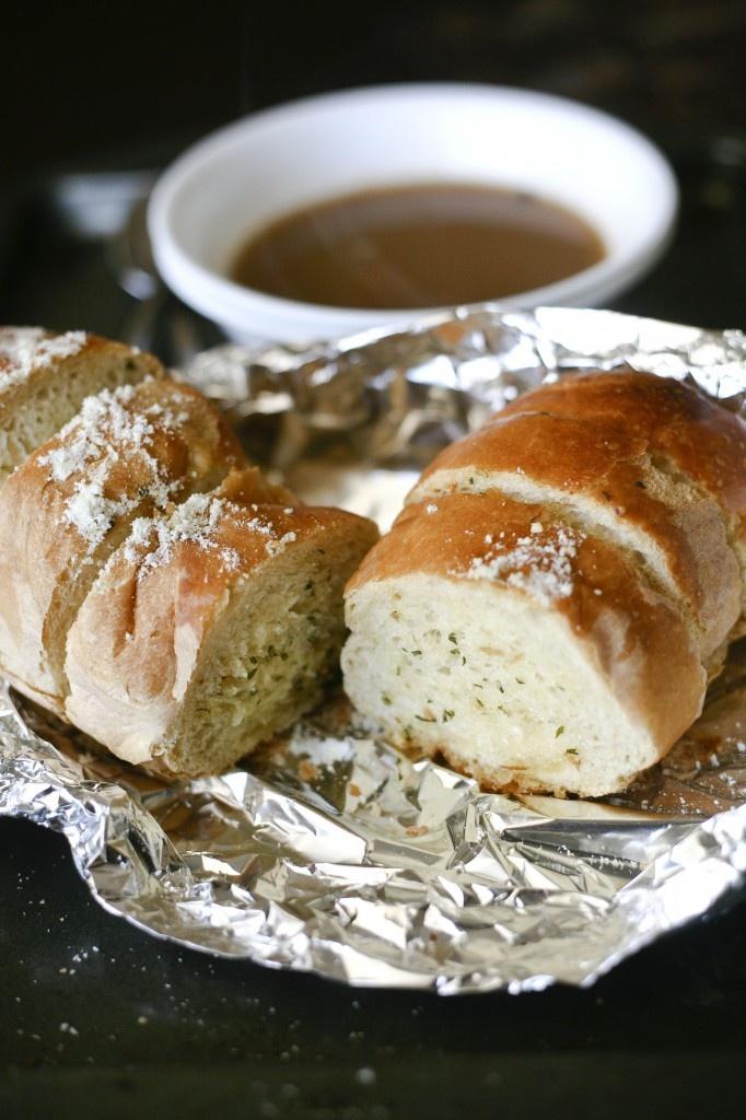 Crispy Garlic Bread | Savory Baked | Pinterest